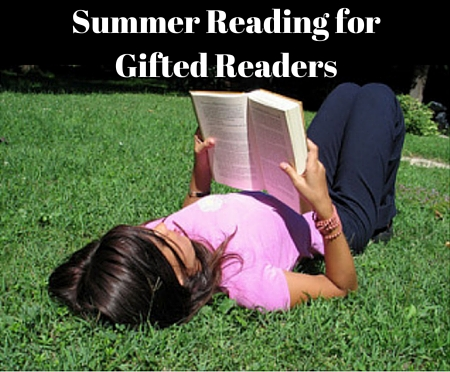 summer reading for gifted readers