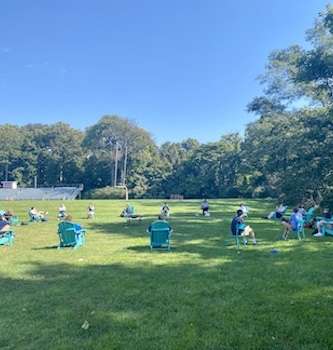 mindfulness activities outdoors
