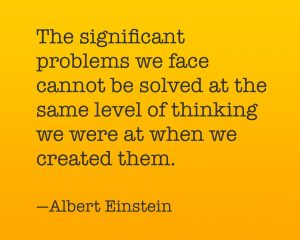 gifted child paradigm quote from Einstein