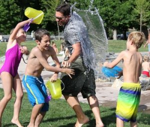 Family Water Play