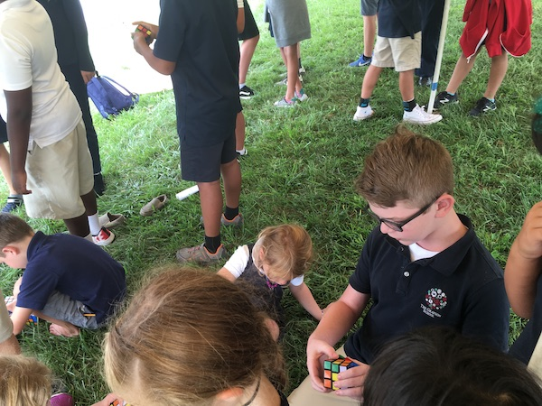 Cubing inspires community among our students.