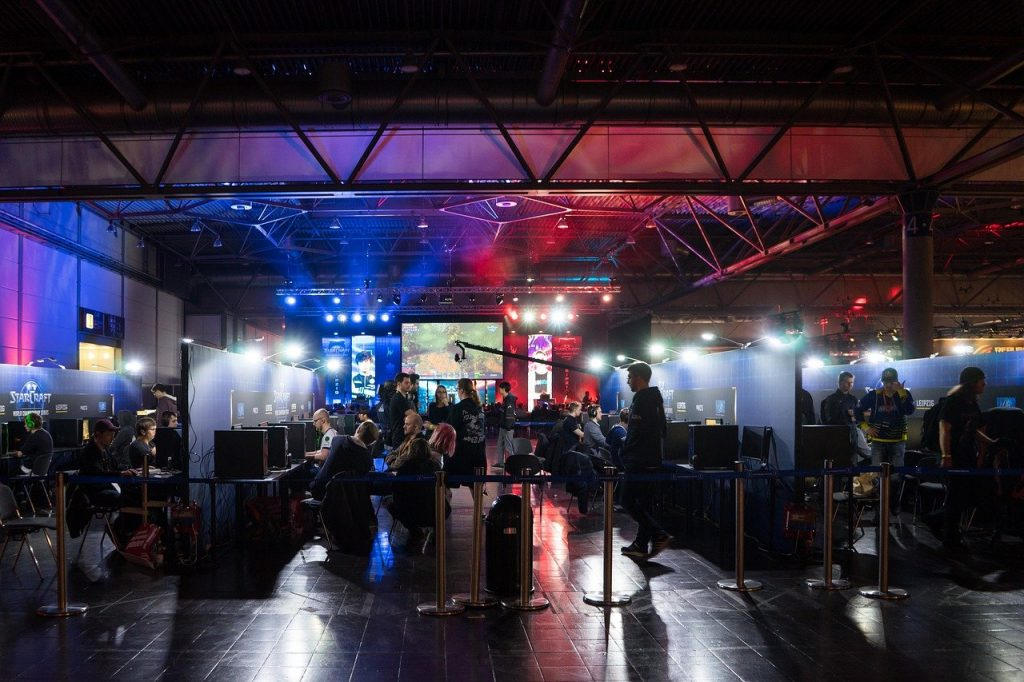 commercial interests have driven a cultural phenomenon in esports and video gaming