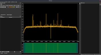 radio telescope signals are received through the SDR